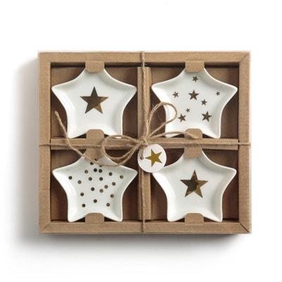 Сундучок с 4 чашами в форме звезды STRADO Сундучок с 4 чашами в форме звезды STRADO La Redoute Interieurs