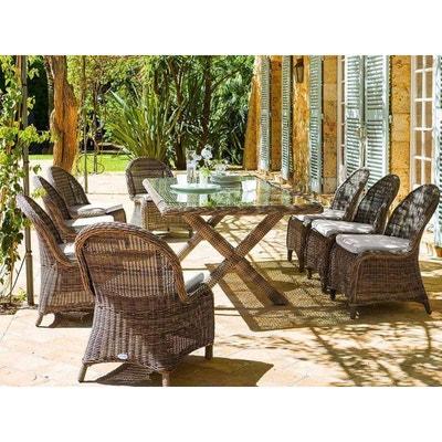 Ensemble table, chaise de jardin Hesperide | La Redoute