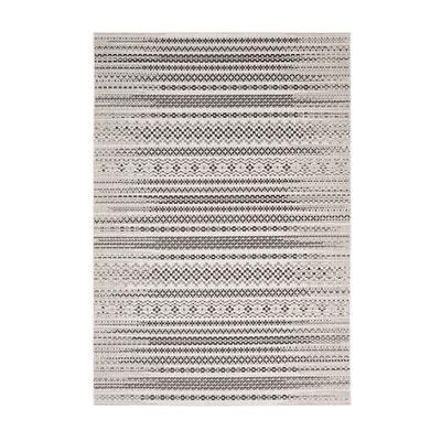 Tapete aspeto tecelagem plana em polipropileno, AFRO La Redoute Interieurs