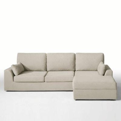 Canapé d'angle Madison, coton lin Canapé d'angle Madison, coton lin La Redoute Interieurs
