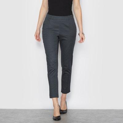 Printed Stretch 7/8 Trousers ANNE WEYBURN