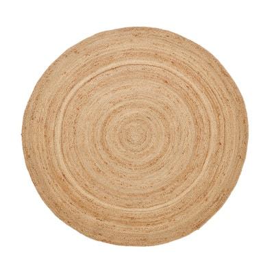 Alfombra de yute, Ø160 cm, col. natural, Aftas Alfombra de yute, Ø160 cm, col. natural, Aftas La Redoute Interieurs