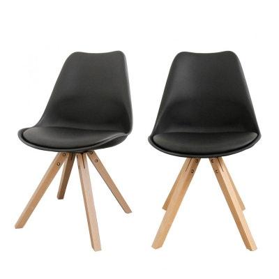 Chaise noire en solde la redoute - Chaises la redoute soldes ...