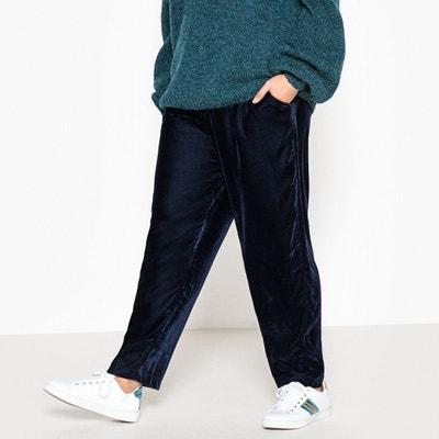 Spodnie dresowe z weluru Spodnie dresowe z weluru CASTALUNA