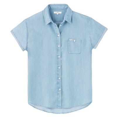 Chemise droite col polo, chemise uni Chemise droite col polo, chemise uni  LEE e6e8c659e695