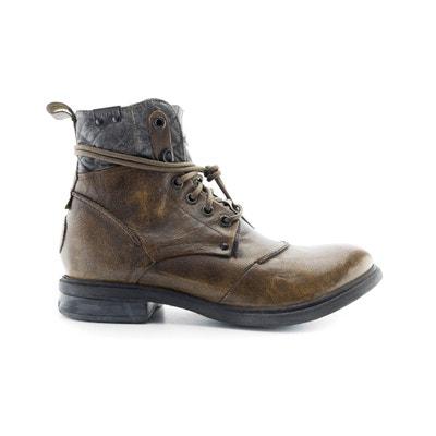 Pop Leather Ankle Boots Pop Leather Ankle Boots BUNKER