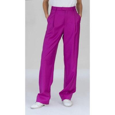 Pantalon droit flanelle DA/DA Diane Ducasse