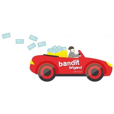 Stickers enfant: Voiture de bandit Stickers enfant: Voiture de bandit DECOLOOPIO