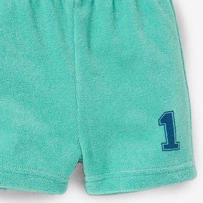 Shorts in spugna (confezione da 3) 0 mesi-3 anni La Redoute Collections