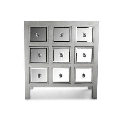 commode miroire en solde la redoute. Black Bedroom Furniture Sets. Home Design Ideas