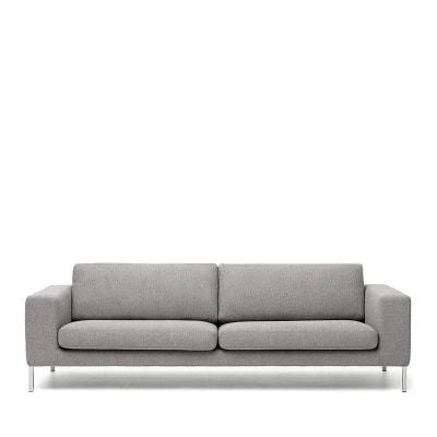 Canapé tissu 3 places Biki DRAWER