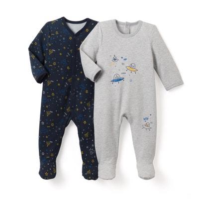 2er-Pack bedruckte Pyjamas, 0 Monate - 3 Jahre La Redoute Collections