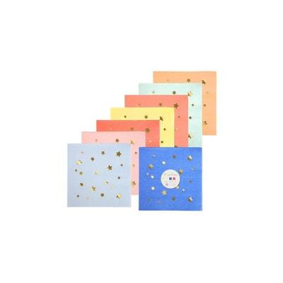 Petites serviettes en papier Etoilées MERI MERI