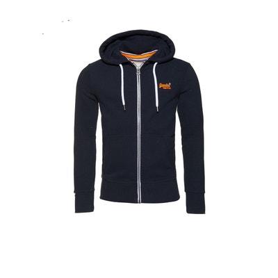 Sweat à capuche zippé Orange Label Lite SUPERDRY 5cf2c85a914b