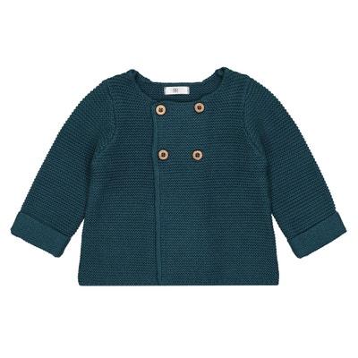 Gilet nascita in maglia Prematuri -2 anni Gilet nascita in maglia Prematuri -2 anni La Redoute Collections