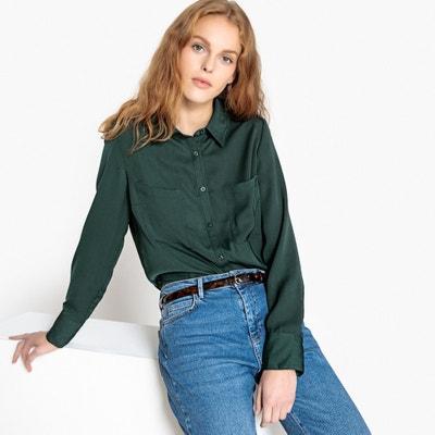 Basic Draping Shirt Basic Draping Shirt La Redoute Collections