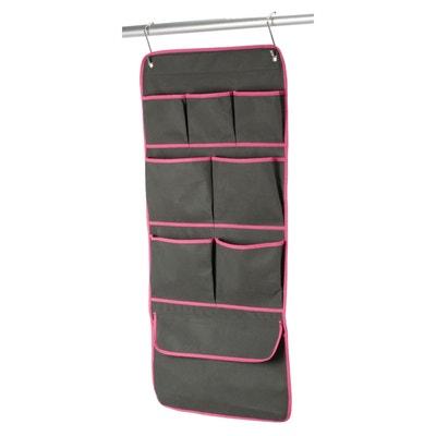8-Pocket Hanging Wardrobe Organiser La Redoute Interieurs