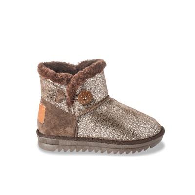 Jaipur Fleece-Lined Leather Ankle Boots LES TROPEZIENNES PAR M.BELARBI