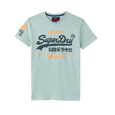 T-shirt z okrągłym dekoltem i krótkim rękawem T-shirt z okrągłym dekoltem i krótkim rękawem SUPERDRY