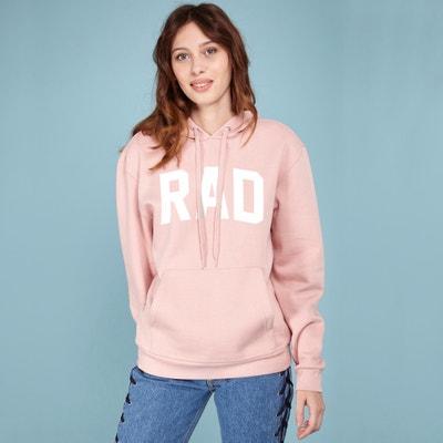 Sweater met kap en Logo RAD