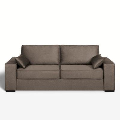 Canapé lit, microfibre, bultex, Cécilia La Redoute Interieurs