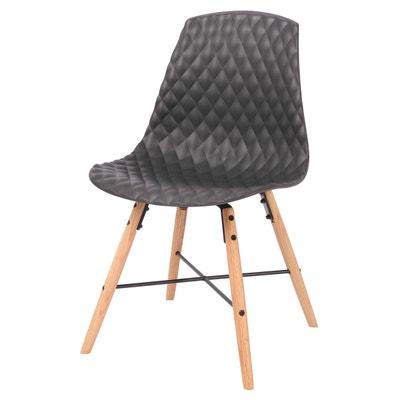 Chaise de cuisine en bois blanc en solde la redoute - Chaises la redoute soldes ...