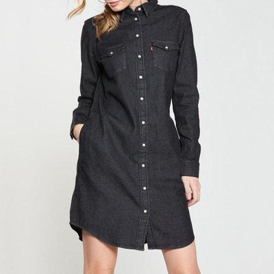 Robe droite jean denim ULTIMATE WESTERN DRESS LEVI'S