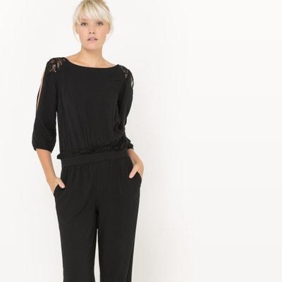 Jumpsuit with Lace Details La Redoute Collections