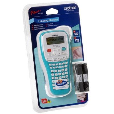 Etiqueteuse Brother PT-H101TB blanc / turquoise pour l'industrie, les métiers et les bureaux électriques étiqueteuse DEVOLO
