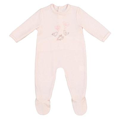 Pyjama en velours 0 mois - 3 ans Pyjama en velours 0 mois - 3 ans LA REDOUTE COLLECTIONS