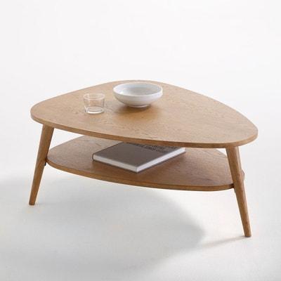 Table basse vintage, double plateau, Quilda Table basse vintage, double plateau, Quilda La Redoute Interieurs