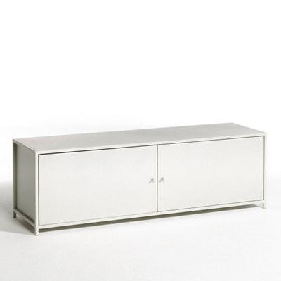 Meuble Tv Meuble Tv Design Blanc D Angle En Solde La Redoute