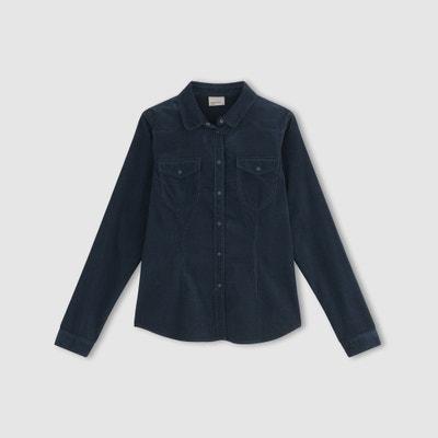 VMKAYA Long-Sleeved Denim Shirt with Pockets VERO MODA