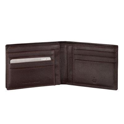 Portefeuille en cuir pour homme avec fentes cartes de crédit DV Portefeuille en cuir pour homme avec fentes cartes de crédit DV DV