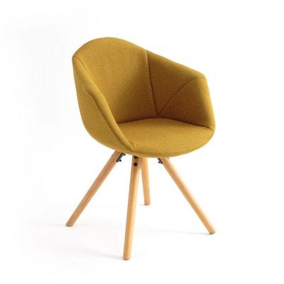 fauteuil de table asting fauteuil de table asting la redoute interieurs - Fauteuil Scandinave Moutarde
