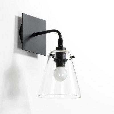 Lampada da parete in metallo e vetro, KIYO Lampada da parete in metallo e vetro, KIYO La Redoute Interieurs