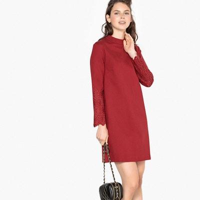 6bf1f705642da Robe droite, courte, manches longues LA REDOUTE COLLECTIONS