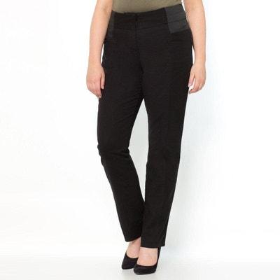 a49d8adaf6f86 Pantalon droit femme grande taille - Castaluna en solde   La Redoute