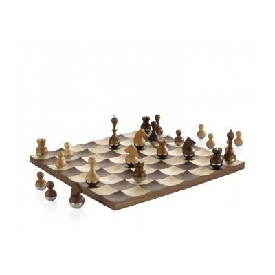 Jeu d'échecs Luxe en Bois Design Jeu d'échecs Luxe en Bois Design UMBRA