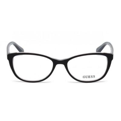 bc50a3c8d0361 Lunettes de vue pour femme GUESS Noir GU 2589 001 52 17 Lunettes de vue