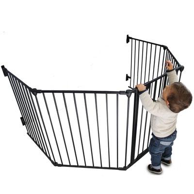 Parc ou barrière de sécurité et cheminée enfant 310cm 5 pans Parc ou barrière de sécurité et cheminée enfant 310cm 5 pans MONSIEUR BEBE