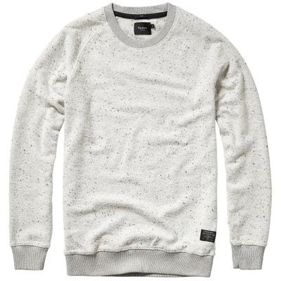 Cotton Crew Neck Sweatshirt 'Becon' Cotton Crew Neck Sweatshirt 'Becon' PEPE JEANS