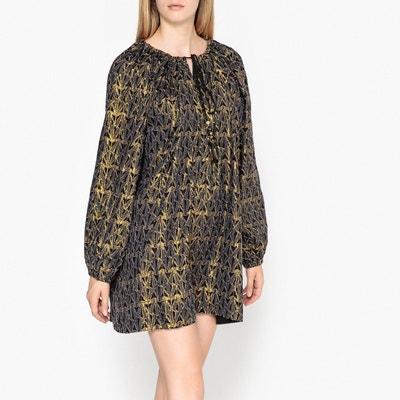 Платье свободное, укороченное с длинными рукавами BALTIMORE Платье свободное, укороченное с длинными рукавами BALTIMORE MES DEMOISELLES
