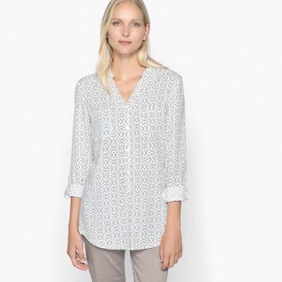 Printed Shirt Style Tunic ANNE WEYBURN