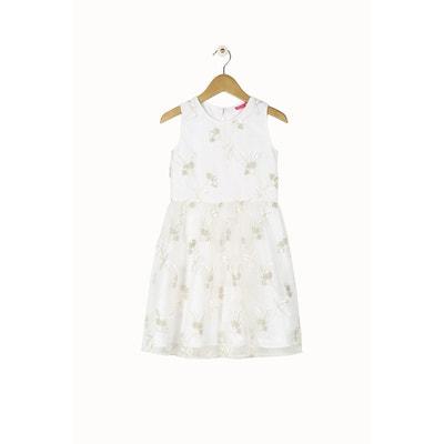 Robe de cérémonie blanche sans manche Derhy kids DERHY KIDS 2406c02cb536