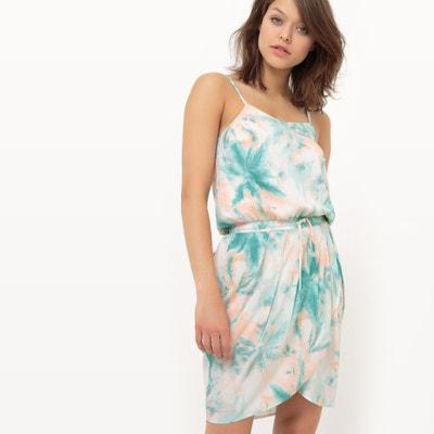 Kleid mit Blätterdruck MADEMOISELLE R
