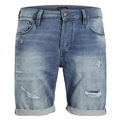 0e7b31c3d232e Bermuda homme en jean s en solde   La Redoute