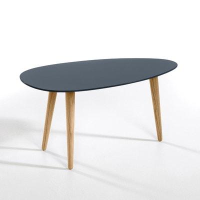 Table basse laqué et hévéa L100 cm, Flashback Table basse laqué et hévéa L100 cm, Flashback AM.PM