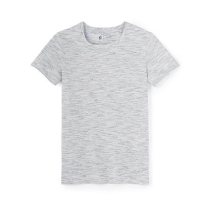 Tee shirt col rond en coton Tee shirt col rond en coton La Redoute Collections