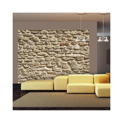 cuisine avec mur en pierre la redoute. Black Bedroom Furniture Sets. Home Design Ideas